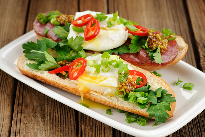Egg Tomato and Scallion Sandwich Recipe 5
